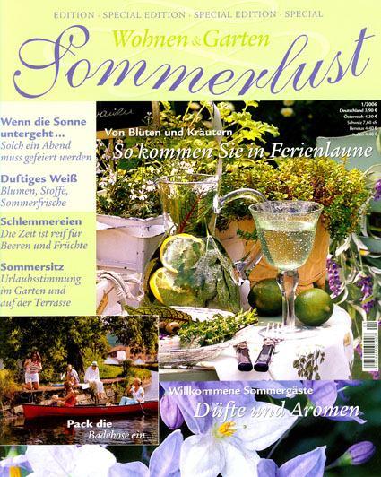 Schön Sommerlust Sonderheft Von Wohnen U0026 Garten Mai 2006